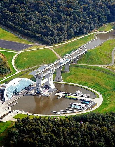 Falkirk Wheel - Above
