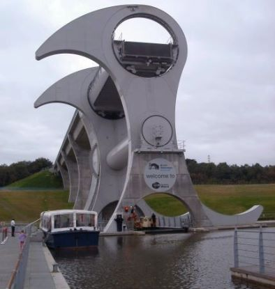 Falkirk Wheel - Below