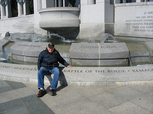 Doc at Battle of Bulge Memorial